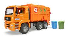 Man TGA Garbage Truck Orange M.1 16 BRUDER 02760