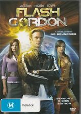 FLASH GORDON THE COMPLETE SEASON 1 - NEW 6 DVD DISC SET FREE LOCAL POST
