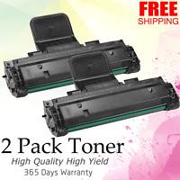 2 Pack Compatible Black Laser Toner Cartridge For Dell Laser 1110 1100 310-6640