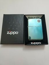 Zippo Windproof Lighter Classic High Polish Teal Metal 49191