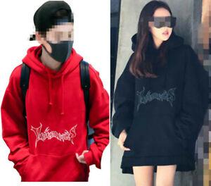 Vetements Hoodie Chanyeol TAO Cap Hoodie JIMIN Pullover Red Sweatershirt 1