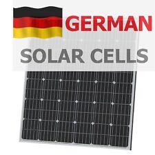 200W 12V solar panel with 5m cable for camper / caravan / boat 200 watt module