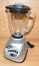 Oster (6847) Silver 12-Speed 6-Cup Glass Jar Blender With Pulse Feature