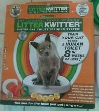 Litter Kwitter Cat Toilet Training System Complete With Instructions & Dvd