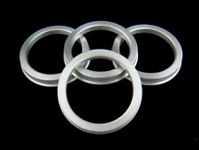 SET OF 4 ALUMINUM ALLOY HUB CENTRIC RINGS 73.1mm. TO 54.1mm.