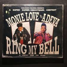 Monie Love vs Adeva - Ring My Bell 3 Track CD Single