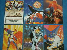 BATTLE OF THE PLANETS Base Set Of 72 Premium Trading Cards 2002 G -Force Spectra