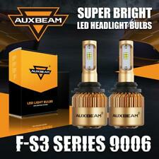 AUXBEAM 9006 HB4 72W 8000LM LED Headlight Bulbs Conversion Kit 6500K Super White