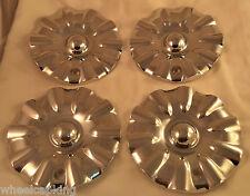 Limited Wheels Chrome Custom Wheel Center Caps Set of 4 # L820 NEW!