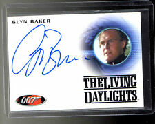 James Bond 2013 Autographs & Relic Glyn Baker auto card