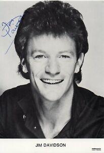 Jim Davidson Autograph - Signed 6x4 Photo - AFTAL