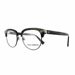 Dolce & Gabbana Eyeglasses Frames DG 3270 3117 Striped Blue Black 52mm Mens