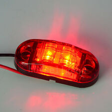 1pc LED Front Side Marker Light Red for Cars Trucks Trailers Indicator