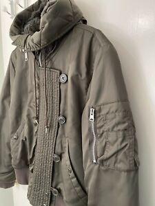 ALLSAINTS Khaki Bomber Jacket, Size M, Perfect Condition