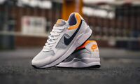 Nike AIR PEGASUS ´92 Lite 'White/Orange' Men's Trainers UK 8 | US 9 | EUR 42.5