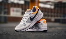 Nike Aire Pegaso ´92 Ligero 'Blanco/Naranja' Hombre Zapatillas GB 8.5 Eu 9.5 Eu