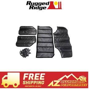 Rugged Ridge Hard Top Insulation Kit fits 11-18 Jeep Wrangler JKU 4 DR 12109.04