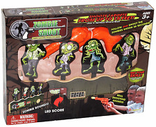 2 Packs Electric Arcade Style Gun Shoot The Zombies With Scoreboard New