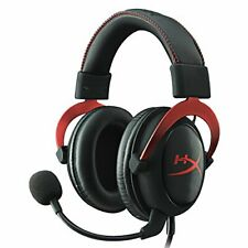 Used Kingston Gemingu Headset Hyperx Cloud Ii Khx-Hscp-Rd Red / Black 7.1