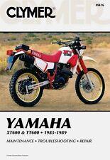 CLYMER SERVICE REPAIR MANUAL YAMAHA XT600 1984-1989, TT600 1983-1986 TT XT 600