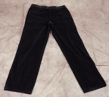ZANELLA~35~Velvety Brown Striped Pants~5 Pocket~35x32.75~Italy