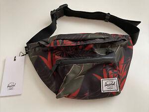 New Herschel Designer Fanny Pack Sport Active Travel Shoulder Bag Large Jungle