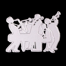 Metal Cutting Dies Symphony Orchestra Decoration Scrapboo Card Craft Embossing