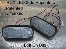 RDX LED CLEAR Side Repeaters Rover 75 & Tourer MG ZT ZT-T 1.8 V6 V8 ALL Models