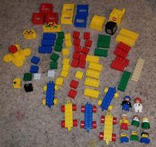 LEGO DUPLO 70+ Pc  Lot Construction Carousel Wheels Figures