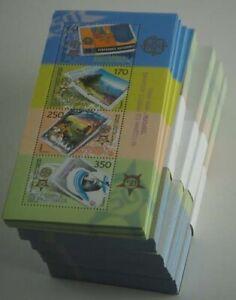 2006 Mazedonien; 500 mal Bl. 13 Europa, **/MNH, MiNr. 370/73, ME 12500,-