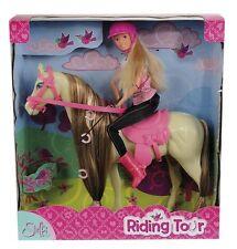 Simba Toys Steffi Love Puppe mit Pferd Reitausflug Pony für Mädchen Puppen NEU
