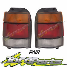 TAILLIGHTS PAIR SUIT HOLDEN COMMODORE VN VP VR VS SMOKEY TINTED UTE WAGON