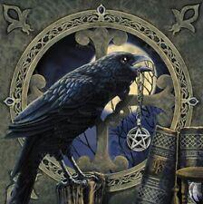 Lisa Parker - talisman crow & pentagram  3D postcard -  gothic fantasy art NEW