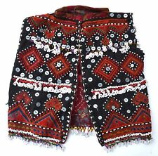 Old Kohistan Embroidered Beaded Childs Vest