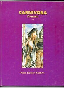 Carnivora Serpieri 1994 Druuna Heavy Metal Hardcover GN 70 pp 8.5 VF+ 0878162240