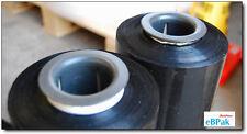 Hand Stretch Film 500mm x 400m Meter - 25U BLACK - Pallet Shrink Wrap