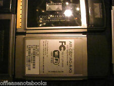 1 Cisco AirONet Wifi 802.11G Wireless Adapter PCMCIA AIR-CB21AG-A-K9 TESTED (1)