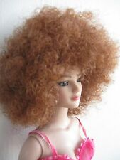 Wig 19 cm. fits,  Tonner American Model Doll Chose your Color - 4 Colors