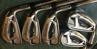 2017 TaylorMade Preowned M1 Single 4 5 6 7 8 Iron XP95 S300 Steel All Original