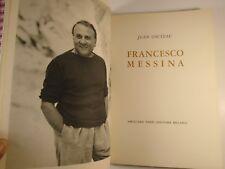 1959 FRANCESCO MESSINA Inscribed ITALIAN SCULPTOR Illustrated JEAN COCTEAU intro