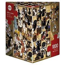 Puzzle e rompicapi nero Heye in cartone