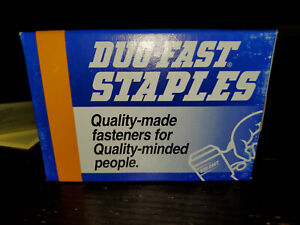 """3 Boxes Duo Fast 7512D 3/8"""" STAPLE 5,000/box For HT755"""