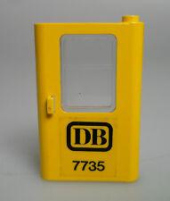 LEGO® Eisenbahn 1x Tür gelb + Fenster mit Aufkleber aus Set 7735 12V rechts