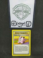 POKÉMON SET BASE UNLIMITED CLEFAIRY DOLL NONHOLO 70/102 NM