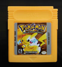 New Game Cards For Nintendo Pokemon GBC Game Boy Color Version Yellow...
