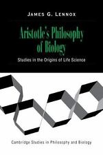 Cambridge Studies in Philosophy and Biology: Aristotle's Philosophy of...
