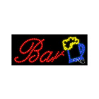 """BRAND NEW """"BAR"""" BEER LOGO 27x11 SOLID/ANIMATED LED SIGN W/CUSTOM OPTIONS 20438"""