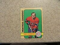 TOPPS 1971-72 MONTREAL CANADIENS YVAN COURNOYER CARD # 10