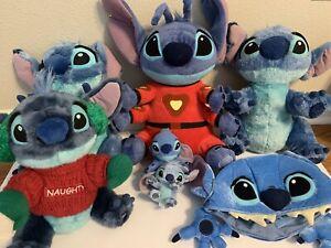 Lilo & Stitch Disney Lot of Stitch Plush