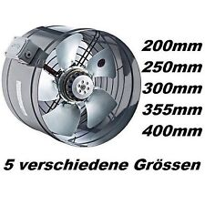 350mm TURBO Axial Rohrventilator Rohrlüfter Ventilator Rohr Kanal Gebläse/Lüfter